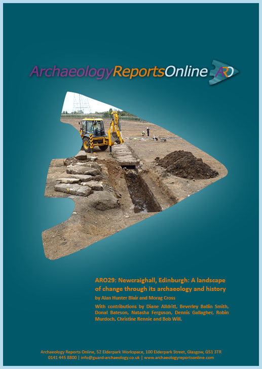 ARO29: Newcraighall, Edinburgh: A landscape of change through its archaeology and history